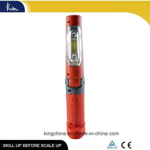 1*3W COB +5 LEDs Portable COB LED Work Light