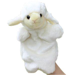 Hot Sales Custom Plush Lamb Hand Puppet pictures & photos