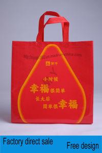 a Molding Non-Woven Film Bag Beautifully Printed pictures & photos