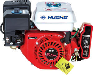 5.5HP, 6.5HP Electric Start Gasoline Engine (HH168F-E) pictures & photos