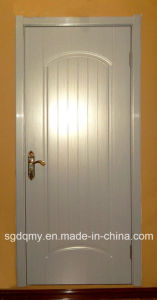 White Melamine Faced MDF Door with Wooden Framen for Middle East Market pictures & photos