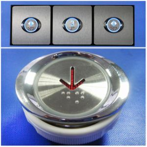 Elevator Push Button with Braille (SN-PB123) pictures & photos