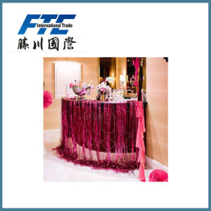 Christmas Tinsel Garland for Wedding Decoration pictures & photos