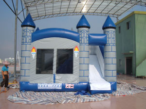 2015 High Quality Customize Inflatable Bouncer with Slide pictures & photos
