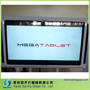"""4mm /5mm 67"""" Extra White Tempered Glass Screen for Tablet pictures & photos"""