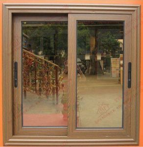 Deluxe Woodgrain Aluminium Sliding Window (BHA-SW24) pictures & photos