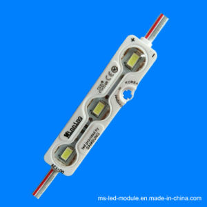 DC12V Waterproof Ultrasonic Injection LED Module with Lens pictures & photos