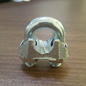 Factory Supplier Rigging Us Type Malleable/ Stainless Steel Wire Rope Clip pictures & photos