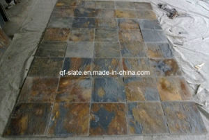 Professional Manufacturer China Rusty Flooring Slate, Stone for Garden/Park