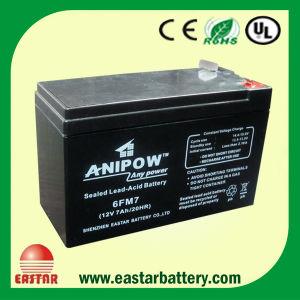 12V 7ah AGM Gel UPS Battery (VRLA Batteries) pictures & photos