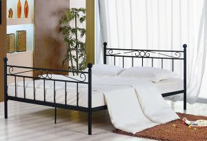 Elegant Metal Double Bed pictures & photos