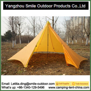 Star Center Pole Backpacking Camping Extreme Mountain Tent pictures & photos