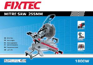 1800W 255mm Sliding Compound Miter Saw pictures & photos