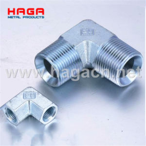 Zinc Plated Steel Hydraulic Fittings Adapter (P1N9) pictures & photos
