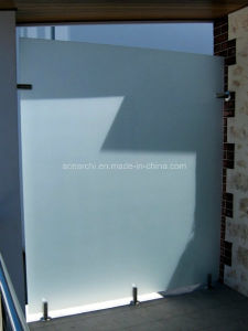 Safety Tempered Frameless Glass Divider/Glass Screen/Wind Screen/Glass Balustrade pictures & photos