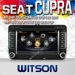 Witson Car DVD for Volkswagen Scirocco (2008-2011) /Transporter (T5) (2010-2011) /Caddy (2004-2012) /Amarok (2010-2011) /Seat Leon, Cupra (2005-2010) (W2-C004) pictures & photos