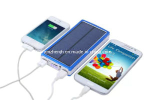 USB Mobile Solar Power Bank Solar Chargers for Mobile Phone (JH-20000S)