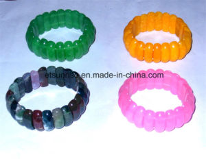 Fashion Crystal Agate Beaded Bracelet Jewelry pictures & photos