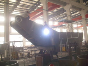 Steel Structure Fabrication Crane Parts (Brace) 2 pictures & photos