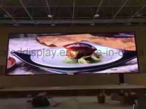 Cx P4.91mm Full Color Indoor TV Panel P2 P2.5 P3 P4 P5 P6 LED Video Wall / Indoor Full Color P6 LED Display/ P6 Indoor LED Panel pictures & photos