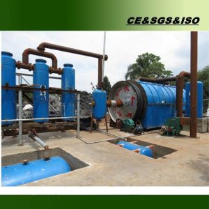 Free Instllation 10 Tons Used Tire Pyrolysis Equipment