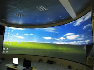 China 3d projection screen 3d motorized tab tensioned for Tab tensioned motorized projection screen