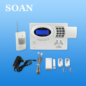 LCD Wireless Alarm System with Doorbell and Watchdog Funtion (SN5900)
