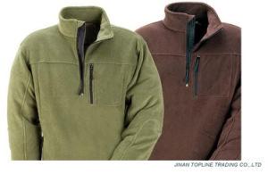 Men Flame Retardant Work Wear Polyster Fleece Jacket pictures & photos