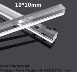 Hot Sale Clear Acrylic, Perspex Square Rod with Various Dimension pictures & photos
