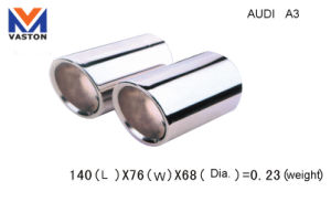 Exhaust/Muffler Pipe for Audi-A3, Made of Stainless Steel 304b pictures & photos