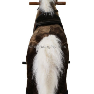 Plush Walking Spring Rocking Horse Toy for Kids Playground Equipment pictures & photos