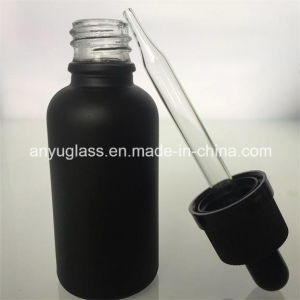 Painting Black Uniquely Essential Oil Glass Bottles pictures & photos