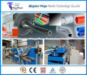 China PE Poly Ethylene Plastic Corrugated Pipe Making Machine on Sale pictures & photos