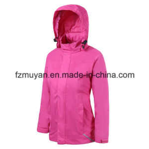 Female Models Soft Shell Waterproof Jacket pictures & photos