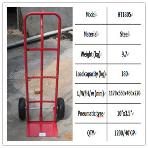 Environmental Protection Material Hand Trolley pictures & photos