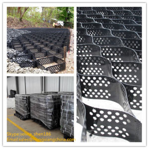 Whole Sale Plastic Geocell for Slope Retaining pictures & photos