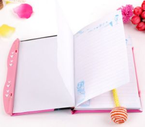 High Quality Colourful Cover Glued Press Notebook