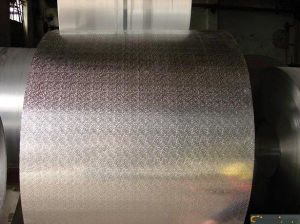 Five Bars Embossed Aluminum Coil for Decoration and Refrigerator pictures & photos