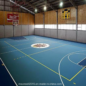 China Facroty Sale PVC Sports Flooring for Basketball Court pictures & photos
