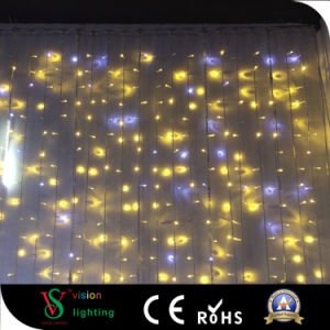 Outdoor LED Christmas Decorations Flashing Curtain Lights pictures & photos