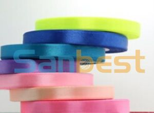 Colorful Polyester Satin Ribbon for Gift Packing pictures & photos