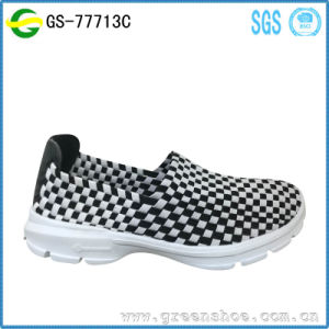 New Arrival Woman Comfortable Knitted Upper China Shoes Factory pictures & photos