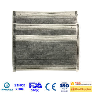 Disposable Active Carbon Filter Face Mask pictures & photos