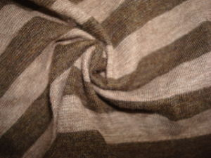 Wide Yarn Dyed Stripe Heather Single Jersey pictures & photos