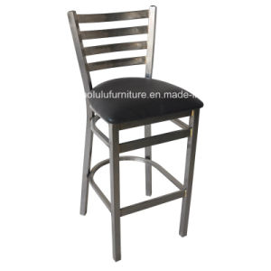 Clear Coat Metal Bar Stool for Club (ALL-77BSCL)