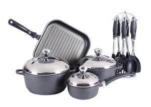 Aluminum Non-Stick Cookware Set pictures & photos