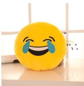 Hot Sale Plush Pillows for Birthday Gift, Lovely Emoji Pillows, Plush Emoji Pillows pictures & photos