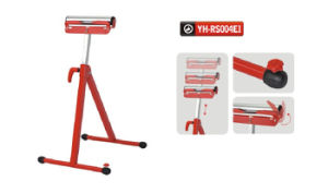 Folding Abjustable Height Steel Roller Stand with a Roller for 132lbs pictures & photos