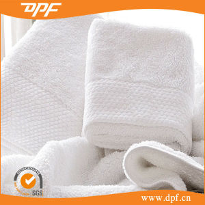 Luxury Hotel & SPA Towels 100% Genuine Cotton White Hand Towels pictures & photos