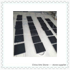 Chinese Granite Marble Absolute Black Countertop (Mongolia black) pictures & photos